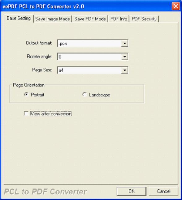 pcl to pdf converter online