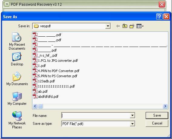 PDF Password Cracker---Crack PDF password.