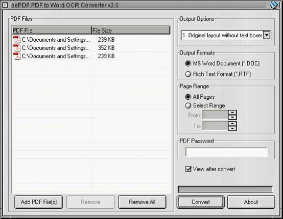 open source pdf doc converter