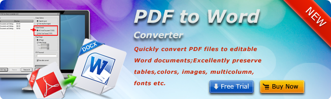 PDF to Word Converter - Convert PDF to Word documents