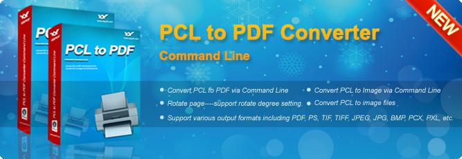 eePDF PCL to PDF Converter Command Line – Convert PCL to PDF